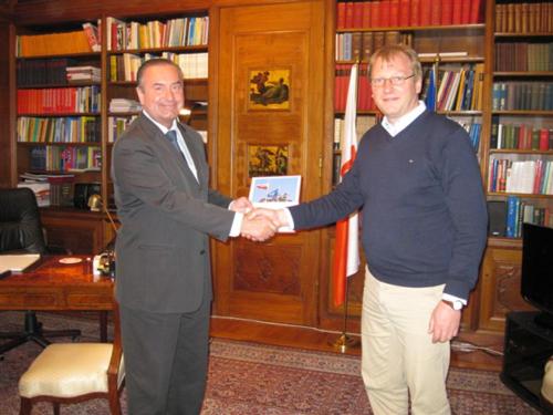 Michal Czyz med Maciej Onoszko