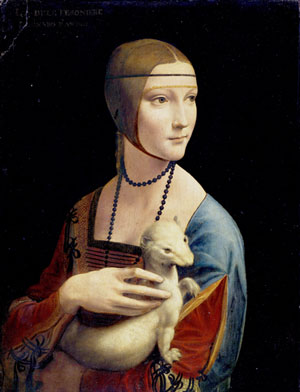 The Lady with an Ermine 300